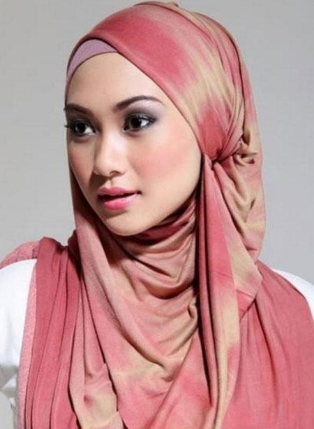 آموزش بستن شال و روسری,آموزش بستن شال و روسری تصویری,آموزش تصویری بستن شال و روسری