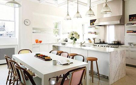 اصول تغییر دکوراسیون آشپزخانه,چیدمان لوکس آشپزخانه