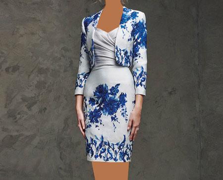 مدل لباس مجلسی کار شده با گیپور,لباس مجلسی گیپور,مدل لباس مجلسی گیپور