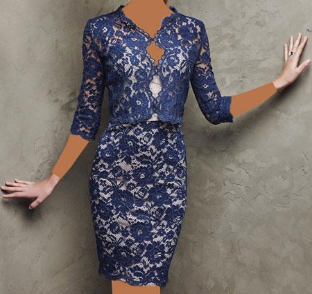 لباس مجلسی گیپور دار,جدیدترین مدل لباس مجلسی گیپور,مدل لباس مجلسی کار شده با گیپور