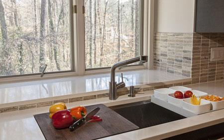 راهنمای خرید تجهیزات آشپزخانه, تکنیک های انتخاب سینک های آشپزخانه