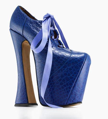 کفش های عجیب زنانه, مدل کفش با پاشنه های عجیب