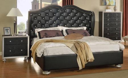 مدل تخت های عروس,جدیدترین سرویس خواب های چرمی
