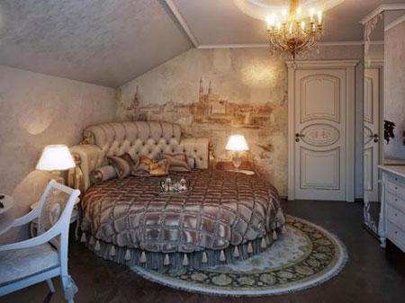 شیک ترین دکوراسیون اتاق خواب,دکوراسیون سلطنتی اتاق خواب