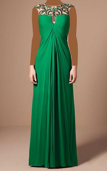 لباس مجلسی برند Mabel Magalhaes,لباس مجلسی بلند