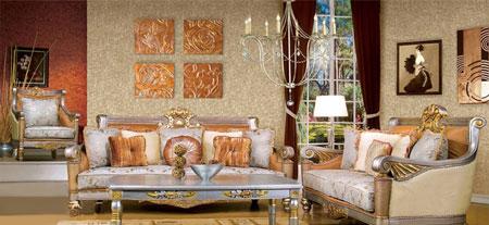 خانه ای به سبک کلاسیک,لوازم خانه به سبک کلاسیک