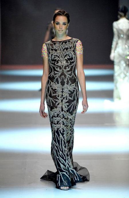 لباس شب 2015, طراحی و دوخت لباس شب