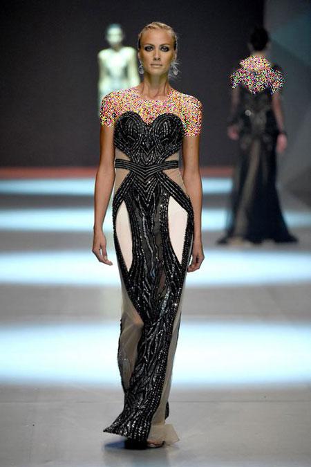طراح لباس لبنانی Dany Tabet,مدل لباس شب لبنانی 2015