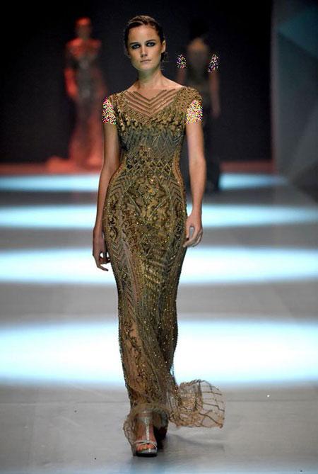 مدل لباس شب لبنانی 2015,طراحی لباس لبنانی Dany Tabet