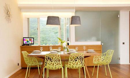 رنگ مناسب اتاق غذاخوری,انتخاب رنگ غذاخوری