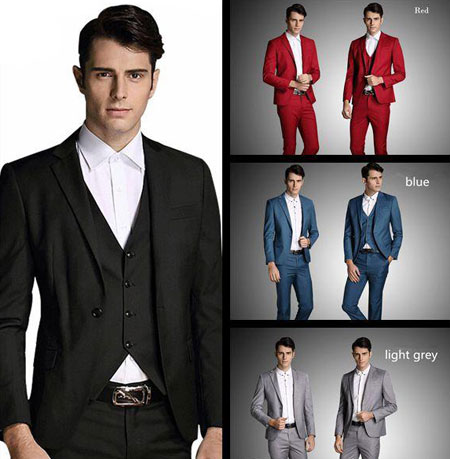 نمونه هایی از کت و شلوارهای دامادی, کت و شلوار مردانه