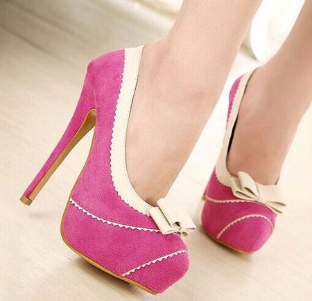 کفش مجلس رنگی, شیک ترین کفش مجلسی کار شده