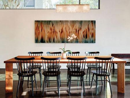 طراحی مینیمالیستی در سالن غذاخوری