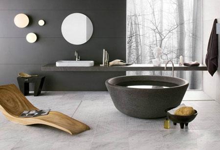 طراحی جکوزی در حمام,نکاتی برای طراحی حمام