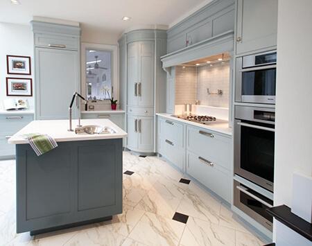 مدل کابینت گوشه آشپزخانه, طراحی کابینت گوشه آشپزخانه
