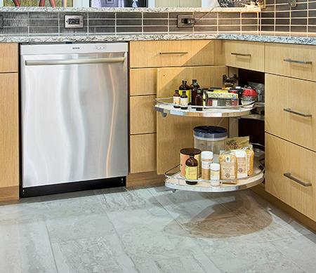 طراحی کابینت گوشه آشپزخانه,طراحی کاربردی ترین مدل کابینت