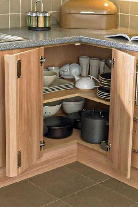 طراحی کابینت های آشپزخانه, کابینت های کاربردی آشپزخانه