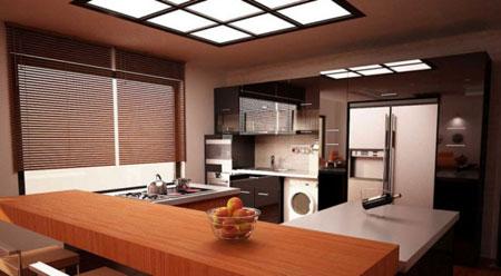 اپن آشپزخانه، پرکاربرد و موثر در زیبایی دکوراسیون منزل