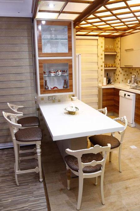 دکوراسیون آشپزخانه های کوچک, طراحی آشپزخانه های کوچک