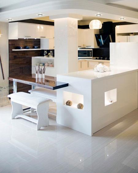 طراحی اپن های شیک, طراحی اپن های مدرن آشپزخانه