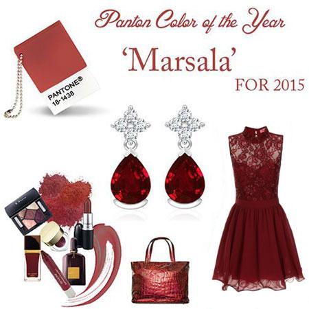 ست لباس مجلسی به رنگ سال, ست لباس مجلسی به رنگ سال 2015