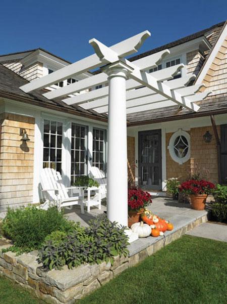 شیک ترین مدل حیاط,طراحی زیبای حیاط
