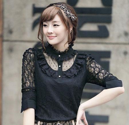 بلوز و دامن زنانه قشنگ,بلوز دخترانه کره ای خوشگل