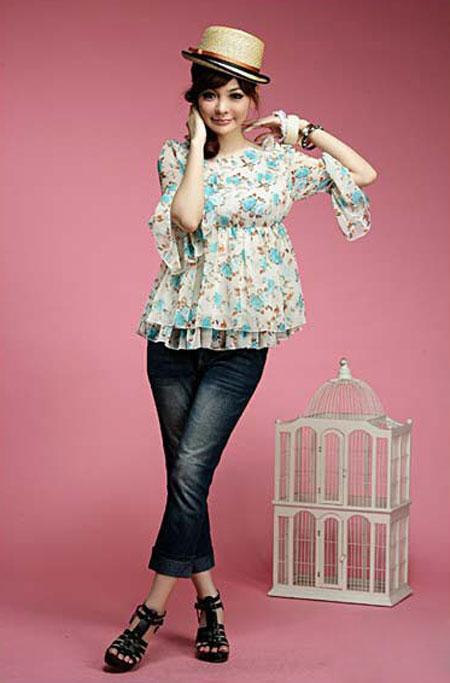 مدل بلوز کره ای