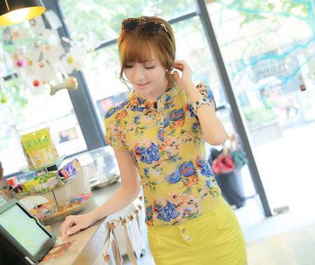 شیک ترین بلوزهای کره ای, مدل بلوزهای دخترانه