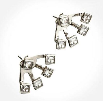 گوشواره زیبا با طرحی خلاقانه,طراحی خلاقانه گوشواره
