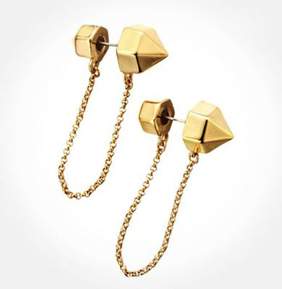 طراحی خلاقانه گوشواره,مدل گوشواره طلا