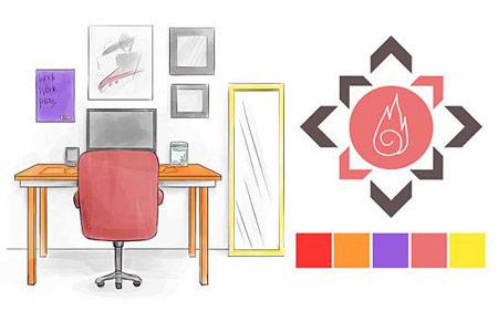 مهم ترین بخش فنگ شویی,رنگ های مناسب اتاق خواب