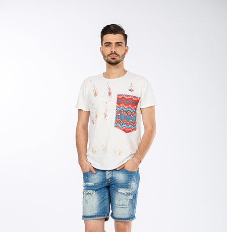 مدل شلوارک مردانه, شلوارک جین مردانه