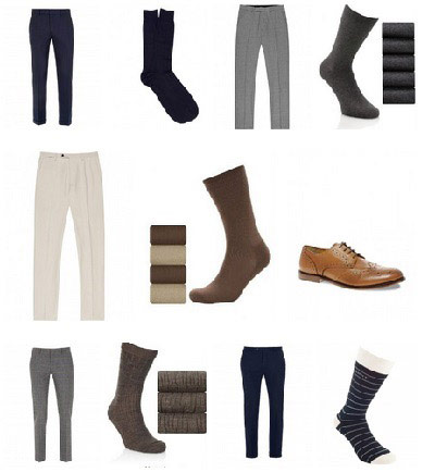 نحوه ست کردن جوراب و شلوار,معمای شلوار جوراب و کفش