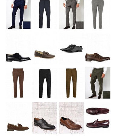 نکاتی برای انتخاب کفش و شلوار, نکته های انتخاب جوراب و شلوار