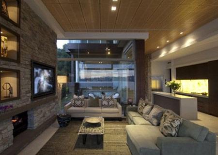 طراحی دیوارهای سنگی, کاربرد دیوارهای سنگی در خانه