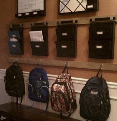 نحوه آماده سازی خانه برای مدرسه,آماده سازی منزل برای مدرسه