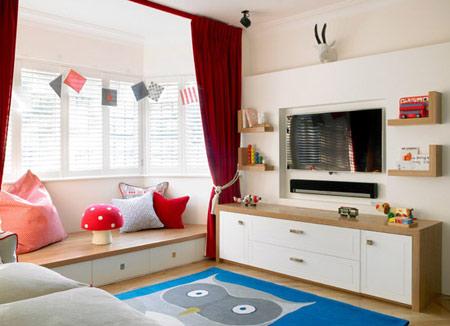 نکاتی برای نظم دادن سریع اتاق کودک, منظم اتاق خواب کودک