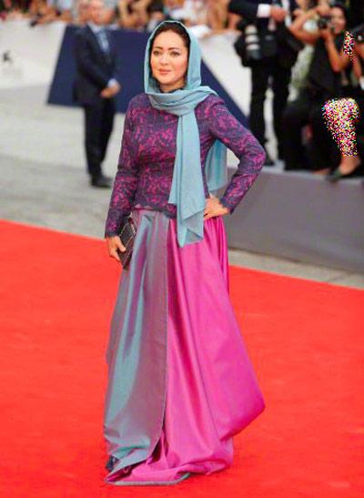 لباس هنرمندان ایرانی در جشنواره ونیز,تصاویر بازیگران ایرانی در جشنواره ونیز