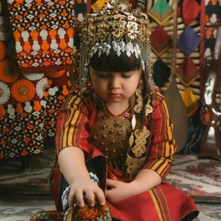 زیورآلات چشمگیر زنان ترکمن, زیورآلات ترکمنی