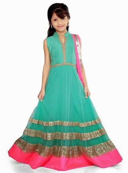 لباس مجلسی دخترانه,پیراهن مجلسی هندی دخترانه