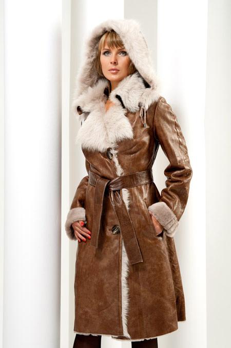 پالتو خزدار زنانه,مدل پالتو