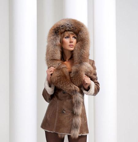 مدل پالتو چرم زنانه, پالتو خزدار زنانه