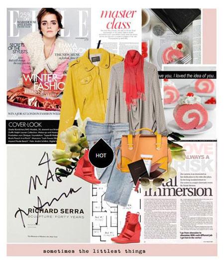 ست پاییزی اما واتسون,ست لباس پاییزی 2015