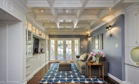 آشنایی با انواع سقف های کاذب,جدیدترین مدل سقف کاذب