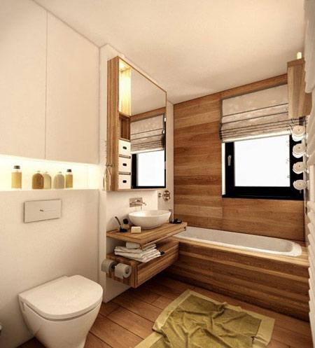 طراحی خانه با چوب, استفاده از چوب در دکوراسیون خانه