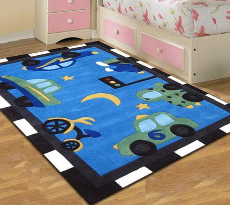 شیک ترین فرش بچه گانه,مدل فرش اتاق کودک