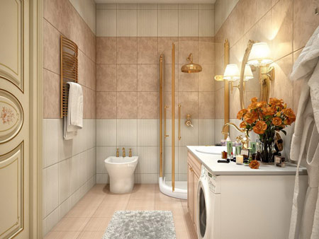 مدل و دستشویی,دکوراسیون و دستشویی
