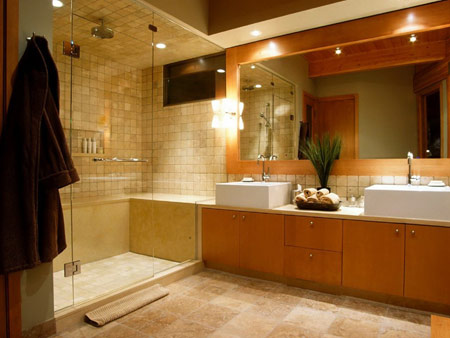 دکوراسیون حمام های بزرگ, دکوراسیون سرویس بهداشتی و حمام