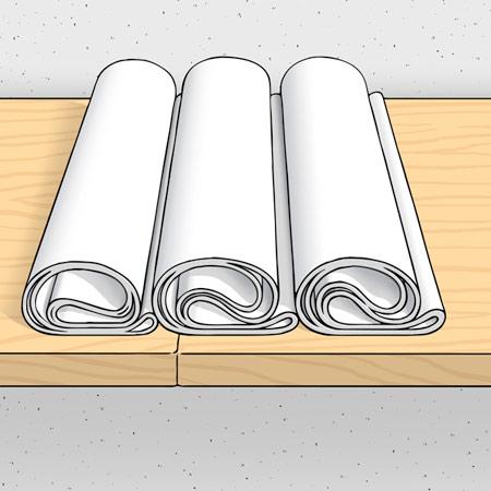 روش چسباندن کاغذ دیواری,آموزش چسباندن کاغذ دیواری